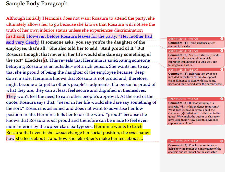 do essays need 3 body paragraphs